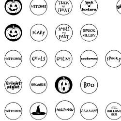 DB Circles - Halloween - DB