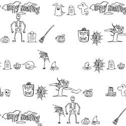 DB Halloween Doodles - DB