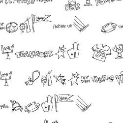 DB Football Doodles - DB
