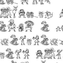 DB Christmas Doodles - DB