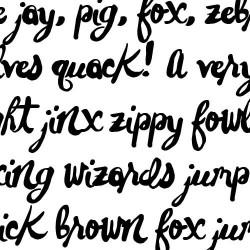 LD Jasper Hand - Font