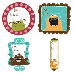 Monster-licious Tags - GS