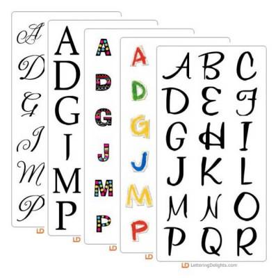 Top 30 Fonts, Alphabets and Graphics of 2009 Super Bundle