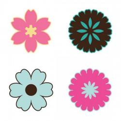 Simple Flower Shapes - SV