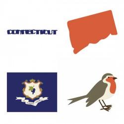 Connecticut Constitution State - SV