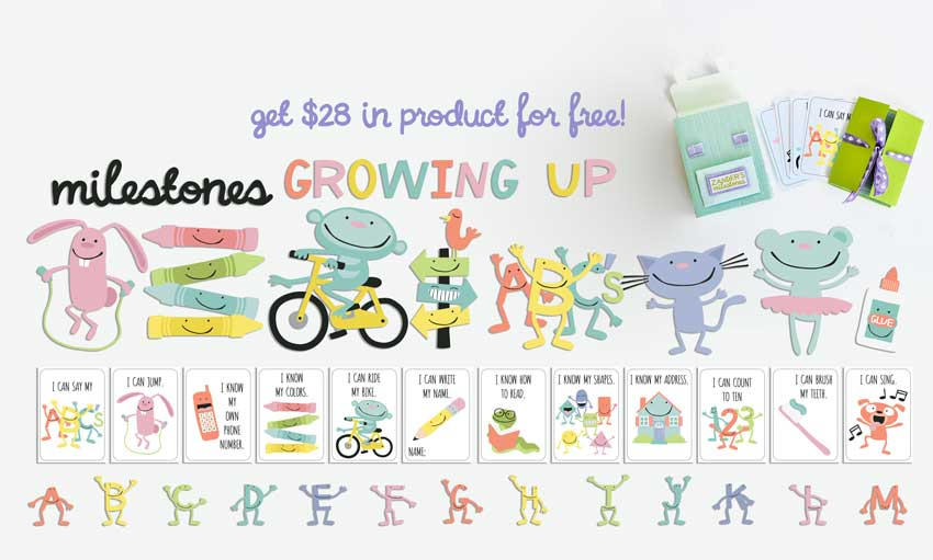 Earn the Milestones - Growing Up - Promotional Bundle - Free