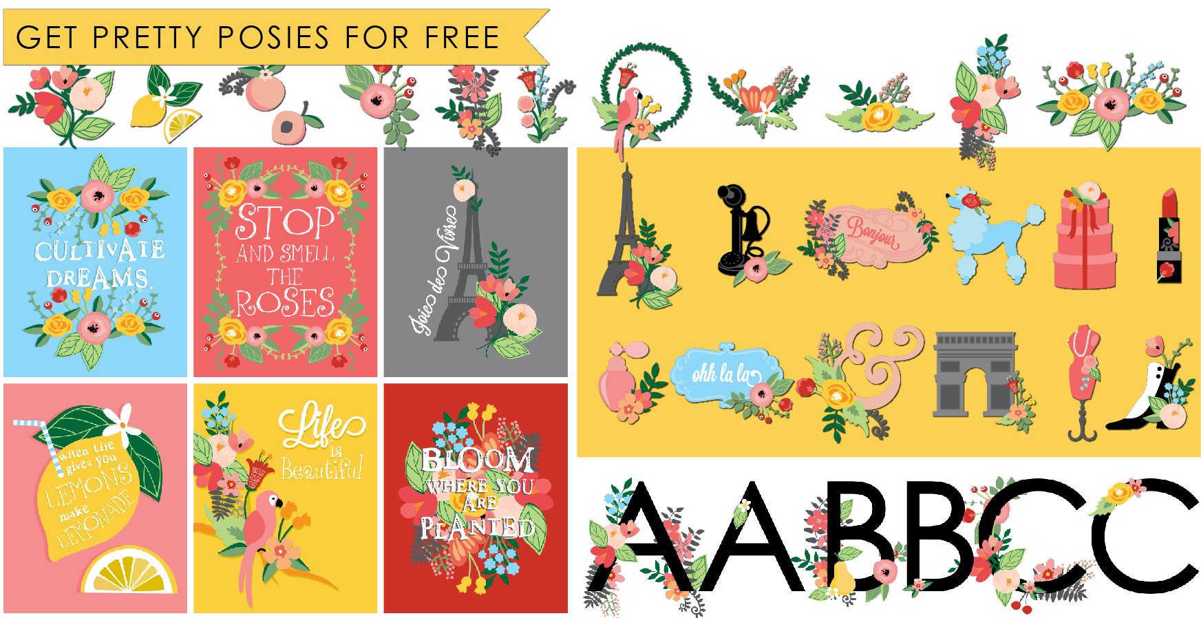 Earn the Pretty Posies - Promotional Bundle - Free